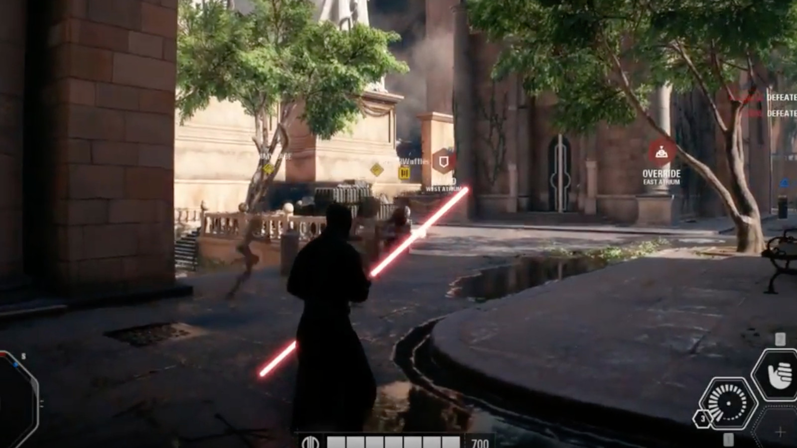 Leaked Star Wars Battlefront Ii Gameplay Footage Shows