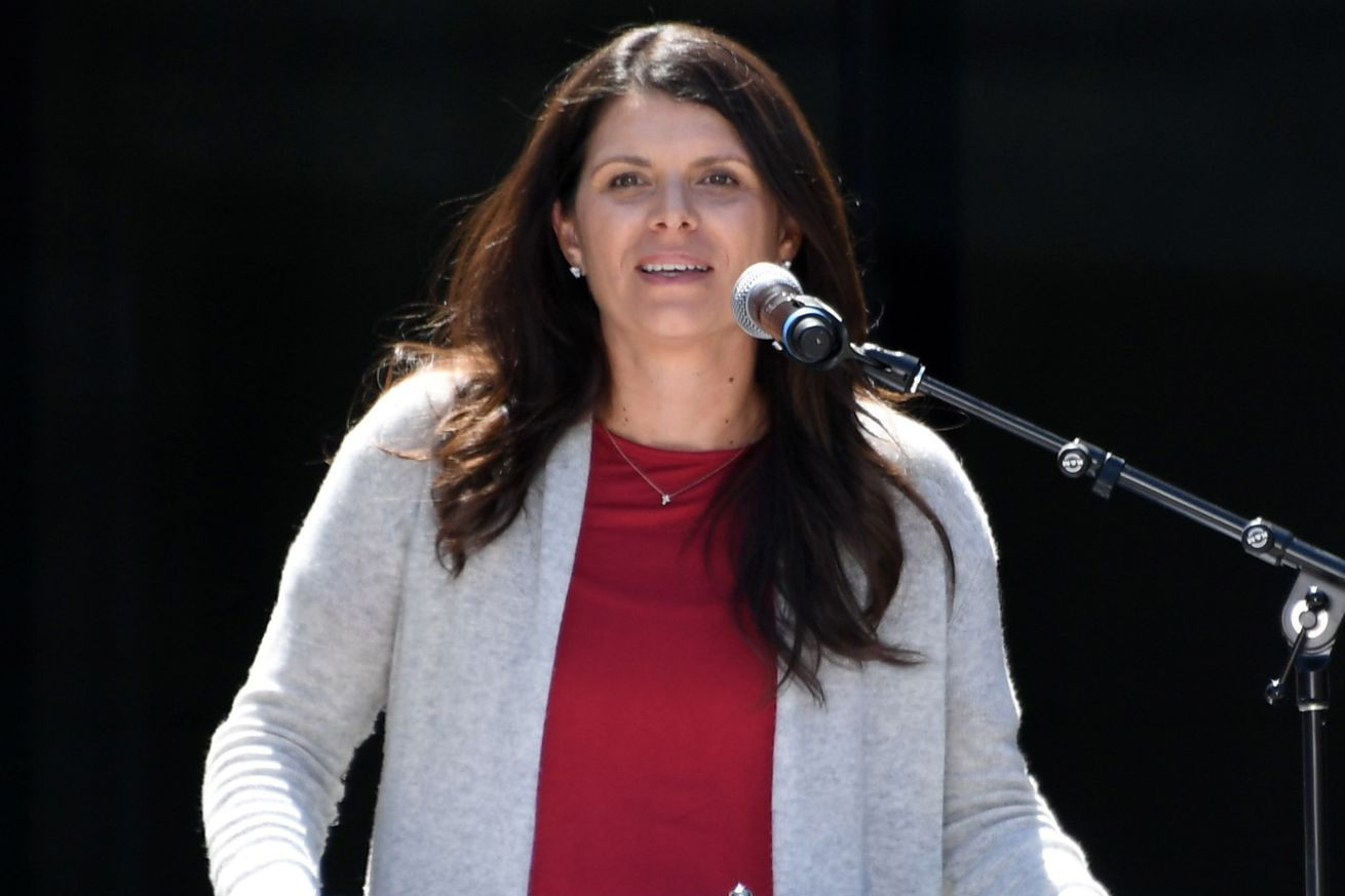 best sneakers 67451 864a8 LAFC's Mia Hamm on MLS Ownership, Inaugural Season and More ...
