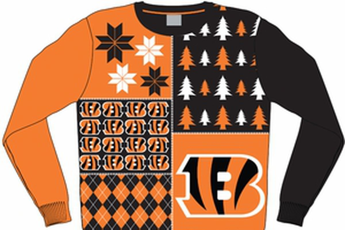 How About Ugly Bengals Sweaters - Cincy Jungle