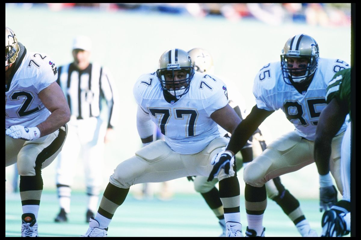e9d7ba3e Countdown to New Orleans Saints Kickoff: A History of No. 77 - Canal ...