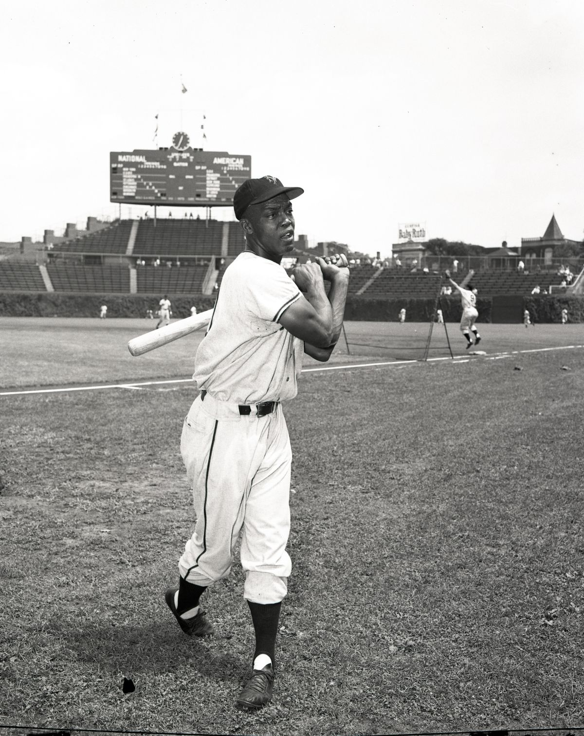 monte irvin (Hall of Fame Library)