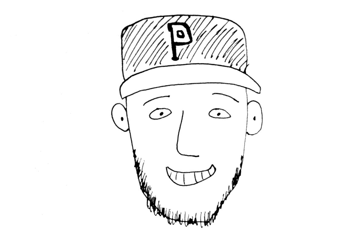 First round draft pick T.J. Zeuch as illustrated by Minor Leaguer