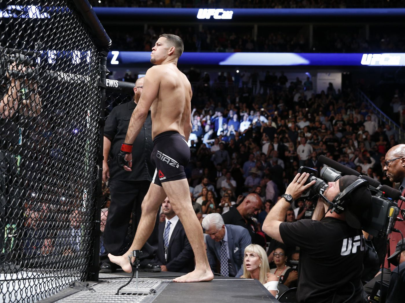 Nate Diaz talks about being 'ostracized' by UFC, claims Dustin Poirier  bailed on fight - MMA Fighting
