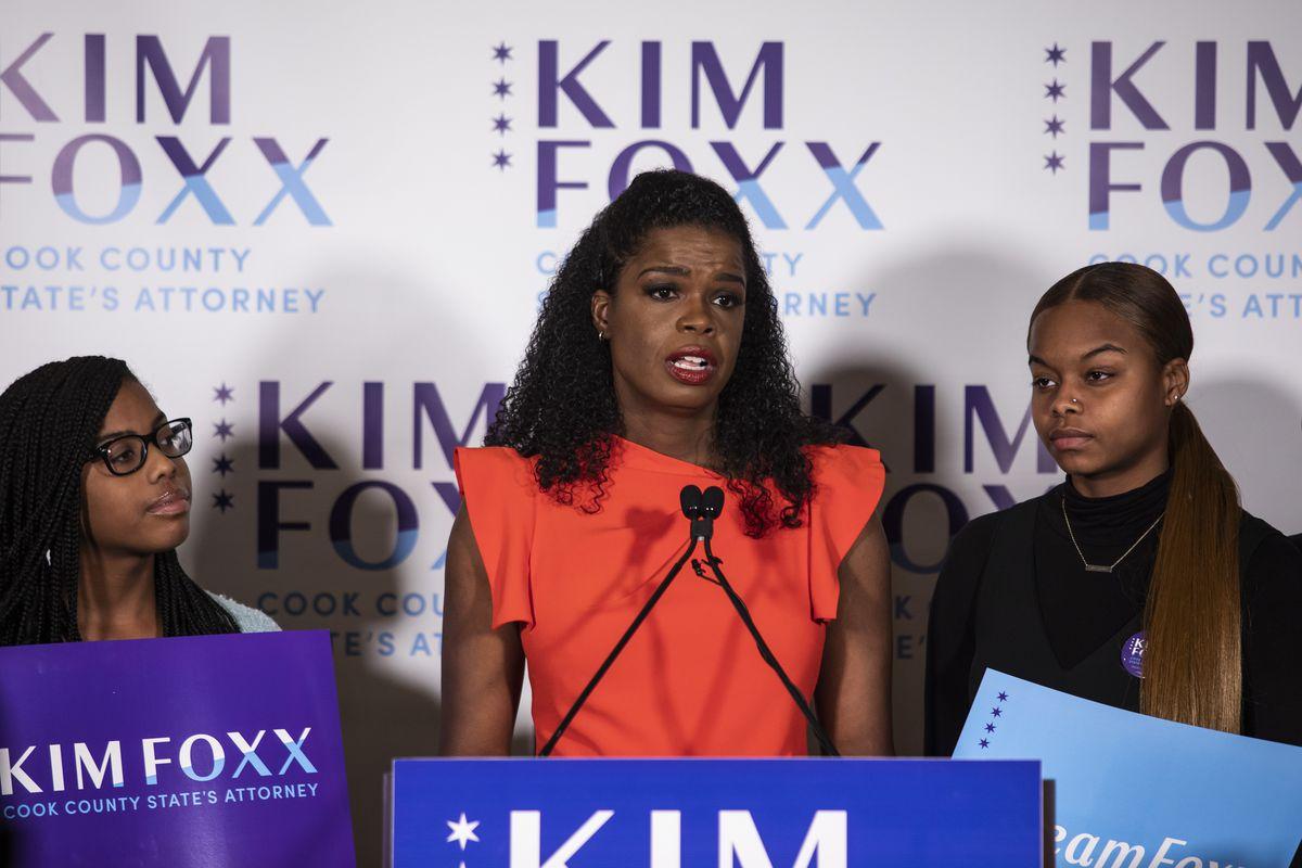 Cook County State's Attorney Kim Foxx