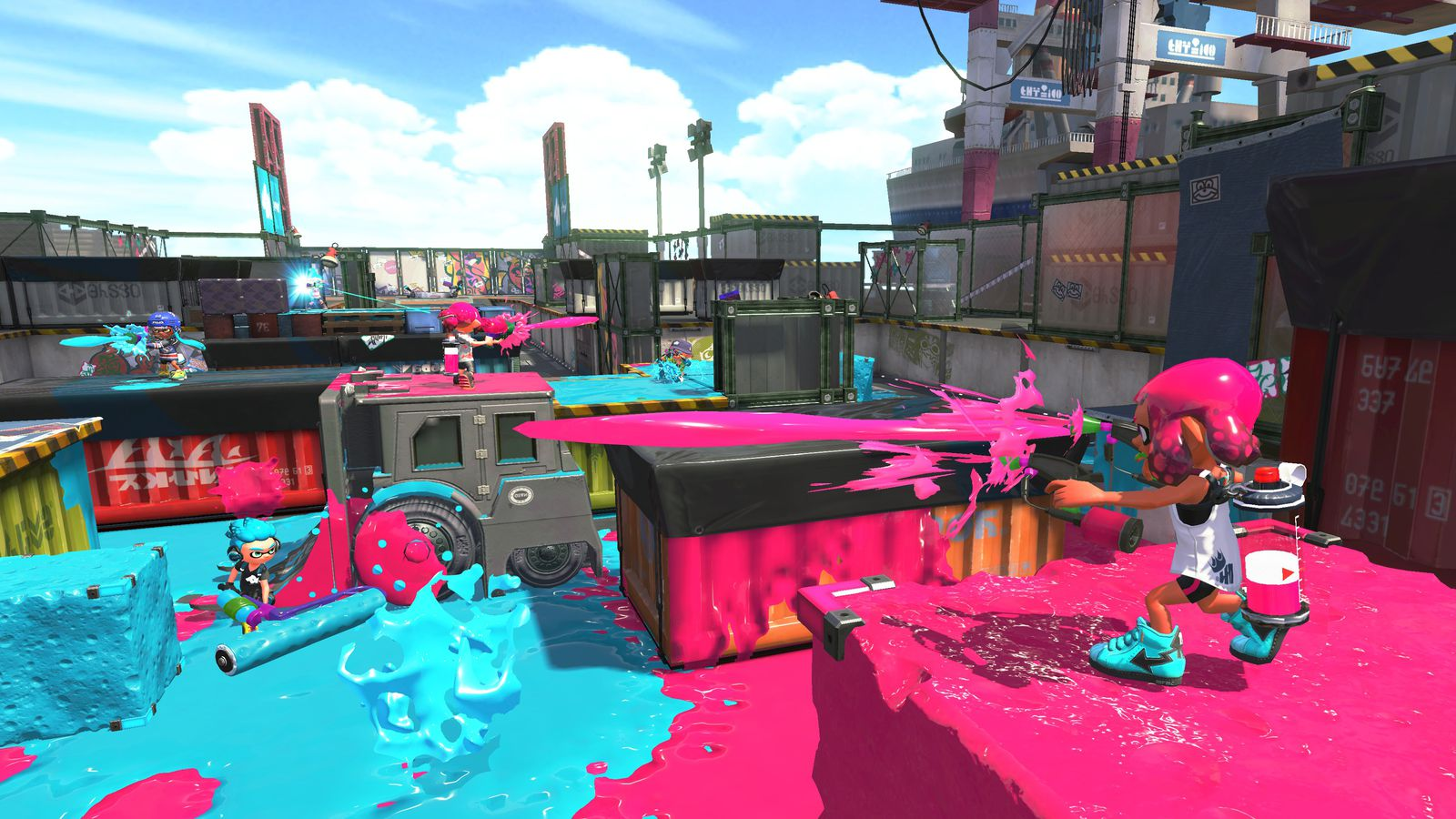 Nintendo's excellent shooter Splatoon is even better on the Switch