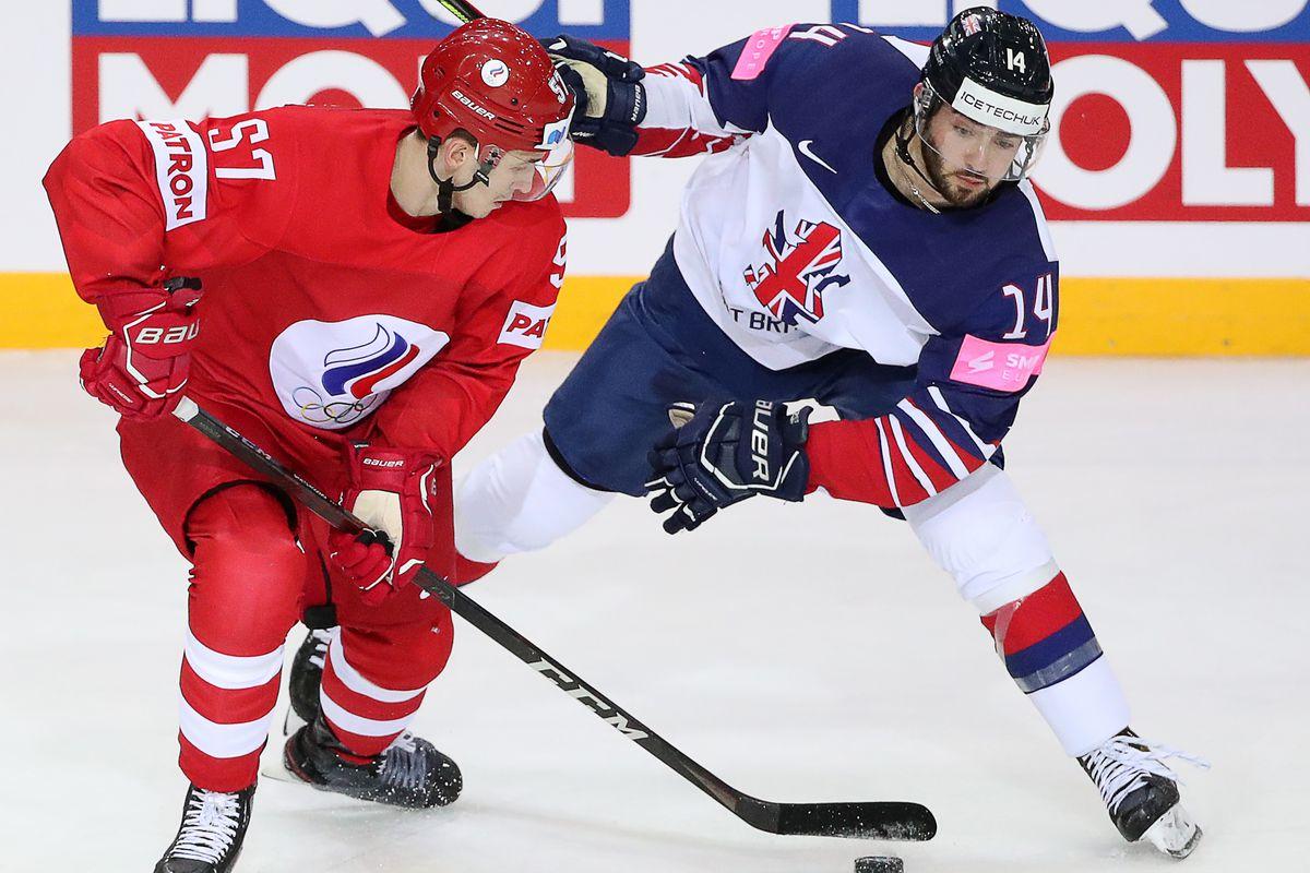 2021 IIHF World Championship, Group A: Great Britain vs Russia