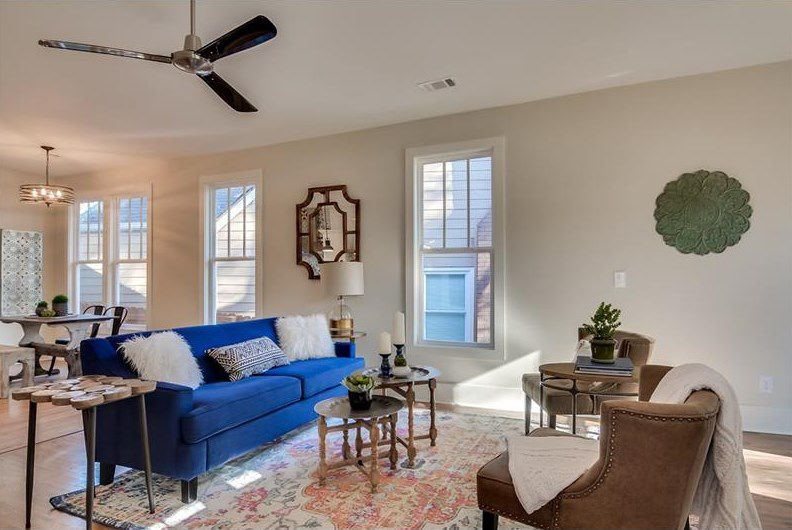 bungalow house interior design. Refreshed West End bungalow takes design chances  charms for 285K Curbed Atlanta