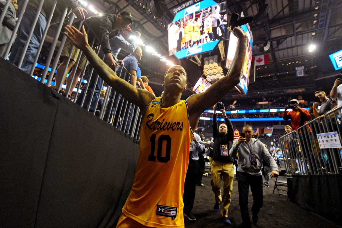 Underdog UMBC rides wave of magical season to historic upset