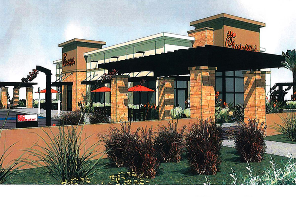 Chick-fil-A Henderson rendering