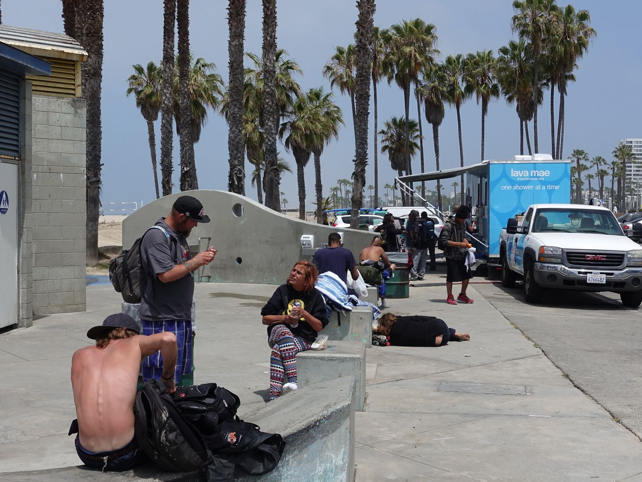 Venice is home to the largest concentration of homeless residents on the Westside.