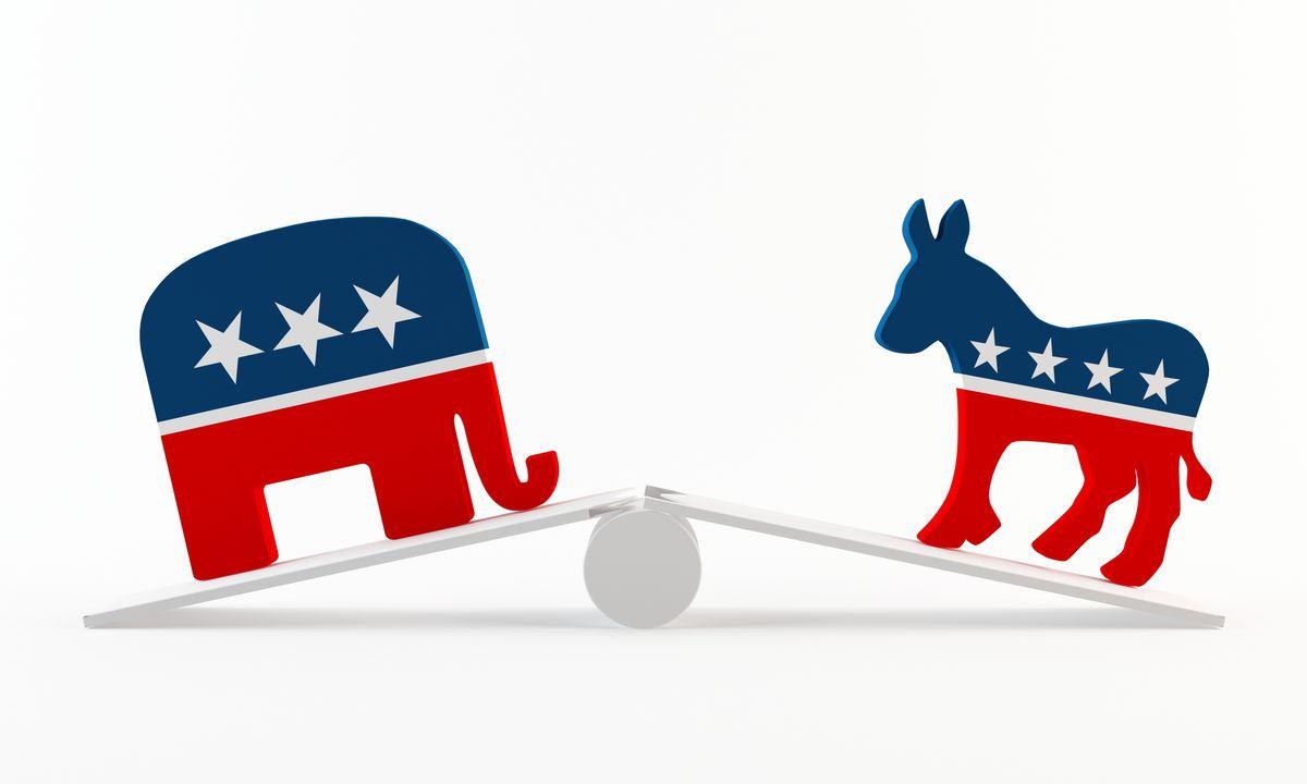 partisan broken teeter totter