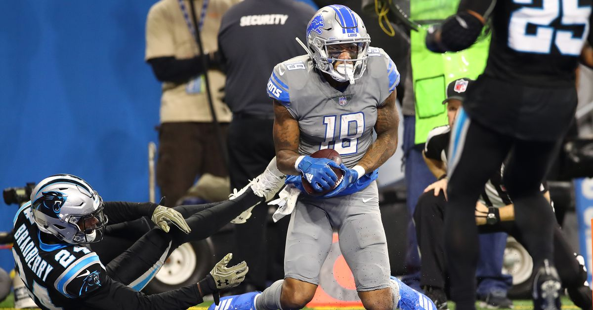 LISTEN: Best Lions vs. Panthers radio calls: 'Kenny Golladay, you're a freak'