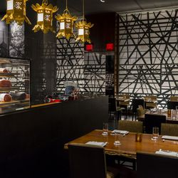 Morimoto butcher and dining room