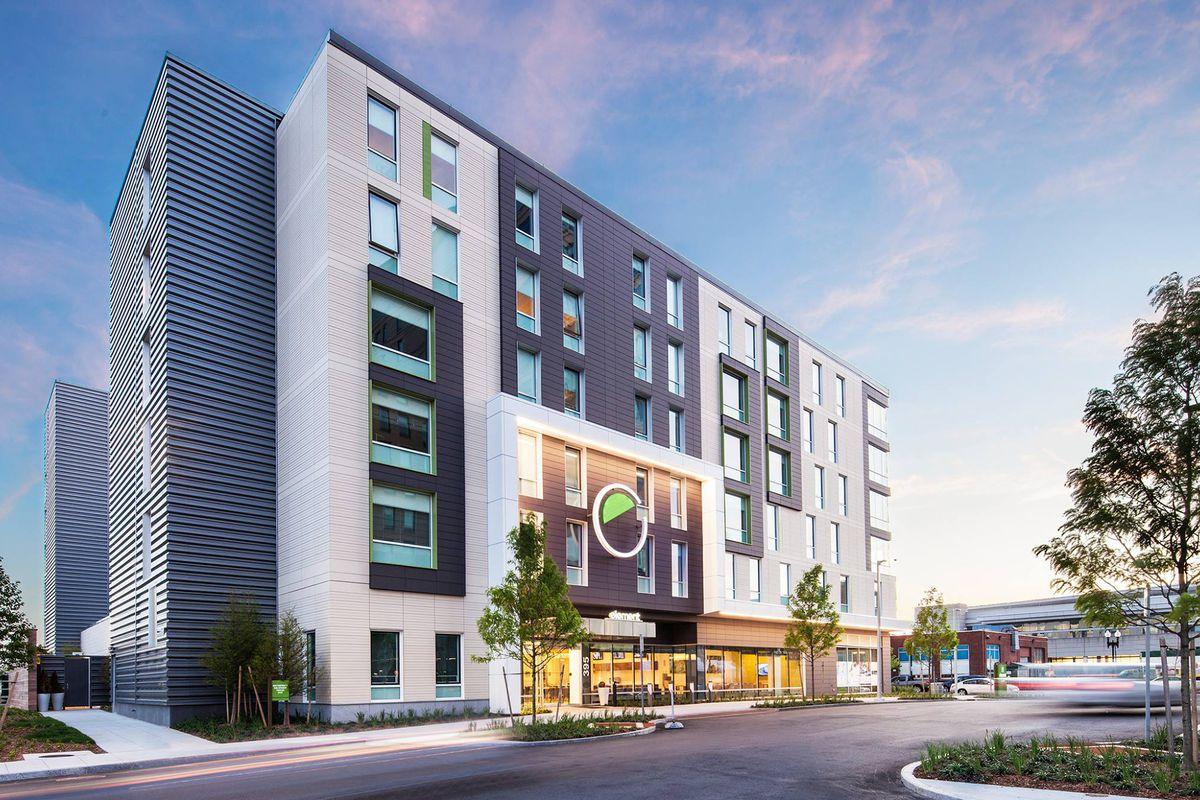 Element Boston Seaport hotel rendering