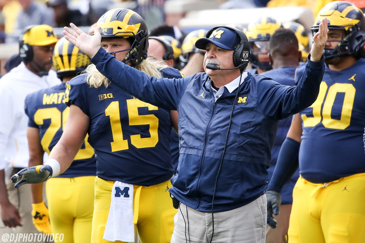 Don Brown Evaluates Michigan S Loss To Ohio State The Buck Stops