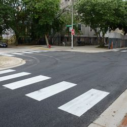 5:02 p.m. New crosswalks painted at Waveland & Kenmore intersection -