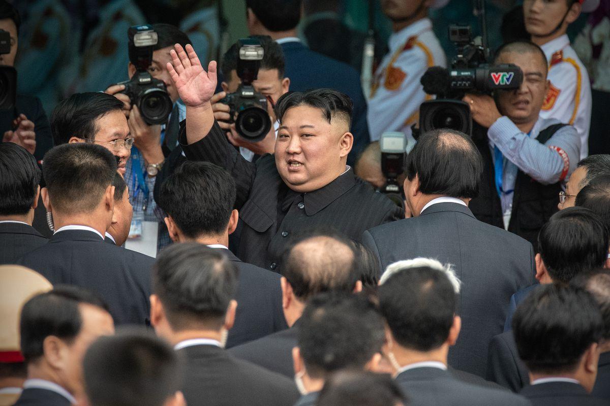 North Korean leader Kim Jong Un prepares to leave Vietnam on March 2, 2019.