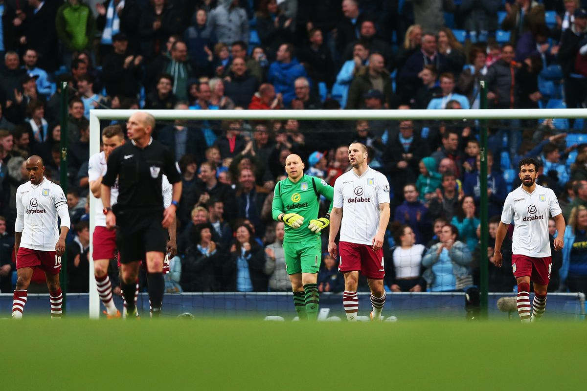 Villa probably deserved something from Saturday's loss at Manchester City. But they didn't have the luck. And that means so much in football.