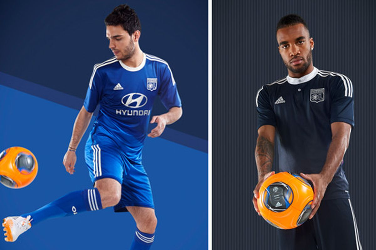 Olympique Lyonnais Unveil 2014/15 Change And Third Kits