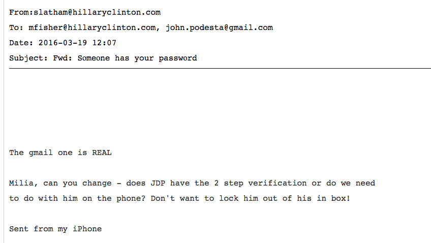 How John Podesta's email got hacked, and how to not let it happen to