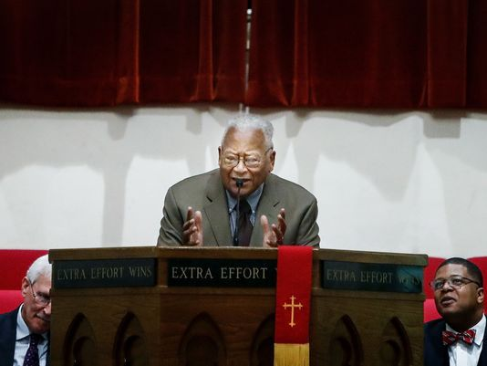 Civil rights activist and pastor James Lawson invited Dr. Martin Luther King Jr. to help with the striking sanitation workers in Memphis more than 50 years ago.