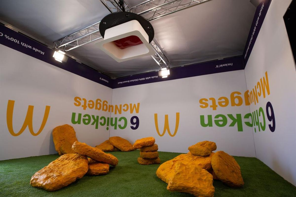 McDonald's turns chicken nuggets into a festival experience for Generation Z