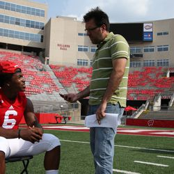Wisconsin running back Corey Clement talks about his more prominent role in the offense this season.