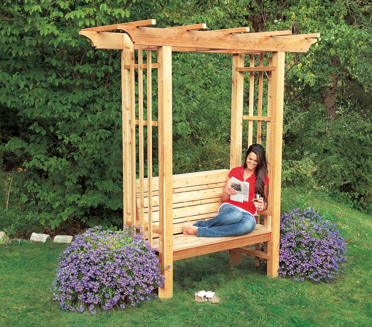 4 Diy Outdoor Projects You Can Make Out Of Real Cedar Wood This Old House