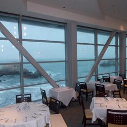 The Cliff House has been perched on the same overlook since the Civil War, where diners can take in the crashing waves of the Pacific at Sutro's. Named after SF millionaire-mayor Adolph Sutro, who once owned the building, the restaurant boasts a two-story