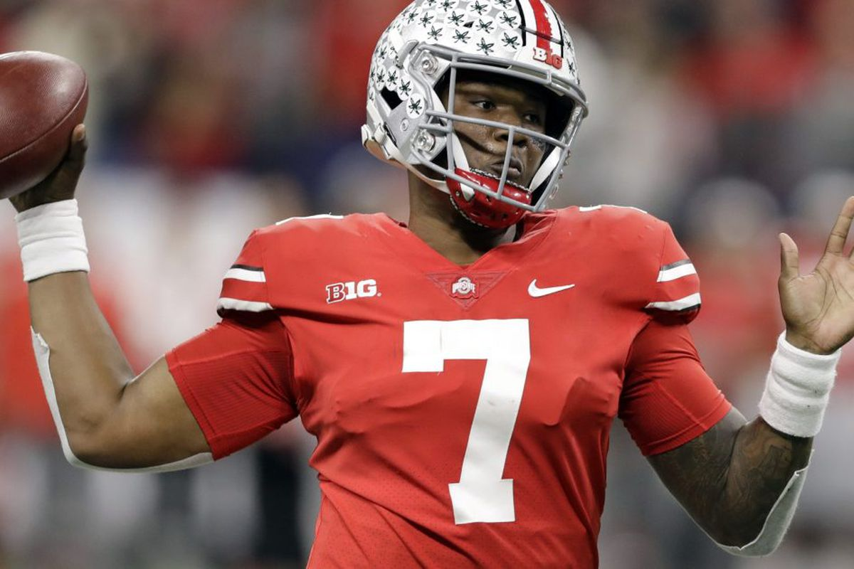 quality design fbc7f 3f097 Dwayne Haskins Jr., Devin Bush receive top honors on AP All ...