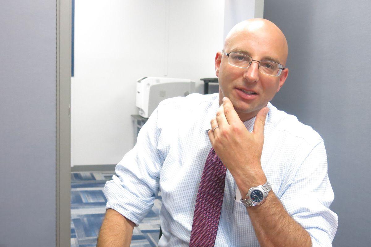 Chris Barbic has led the Tennessee Achievement School District since 2011.