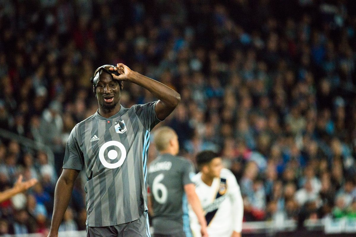 October 20, 2019 - Saint Paul, Minnesota, United States- Ike Opara during an Audi MLS Cup Playoff match between Minnesota United and The Los Angeles Galaxy at Allianz Field (Photo: Tim C McLaughlin)