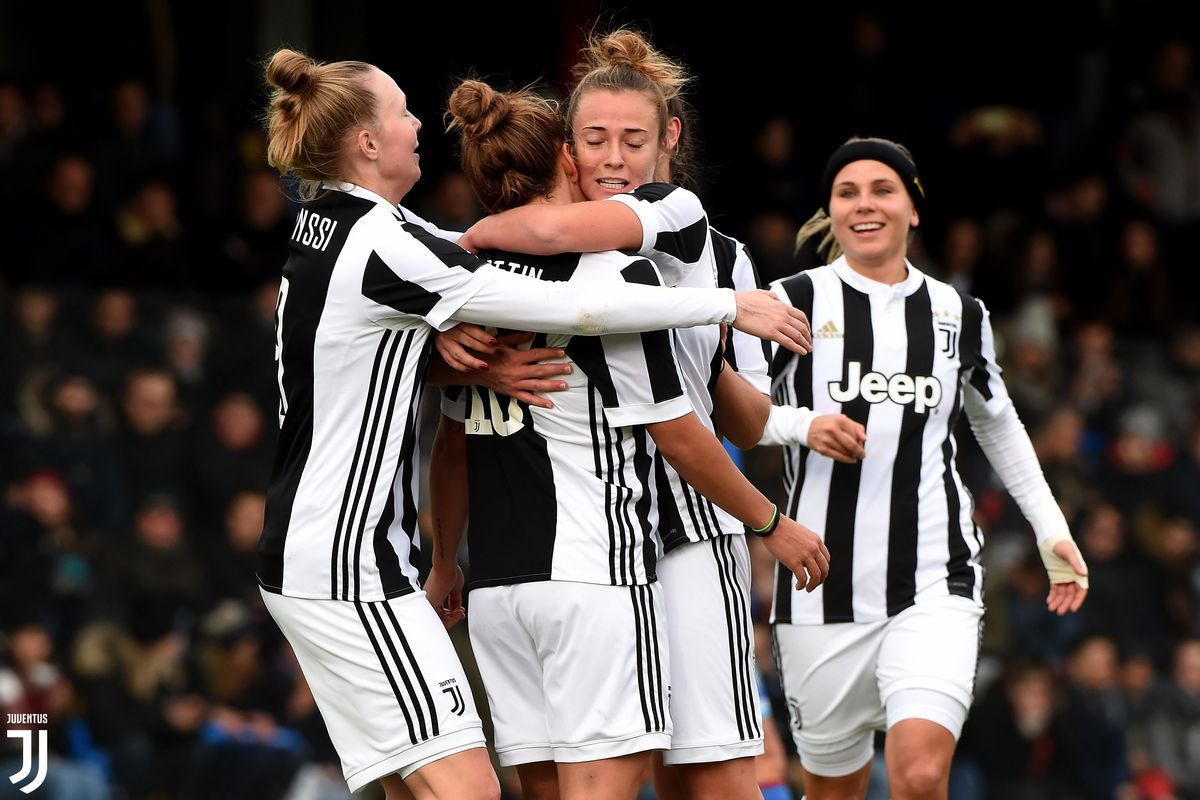 MOZZANICA, ITALY - DECEMBER 02:  during Women Serie A match during Brescia v Juventus at  on December 2, 2017 in Mozzanica, Italy.  (Photo by Juventus FC/Juventus FC via Getty Images)