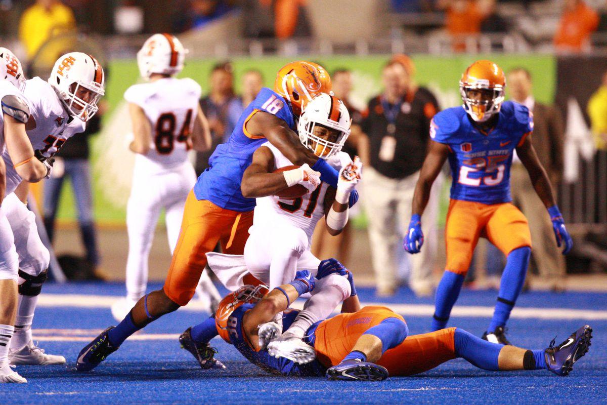 NCAA Football: Idaho State at Boise State