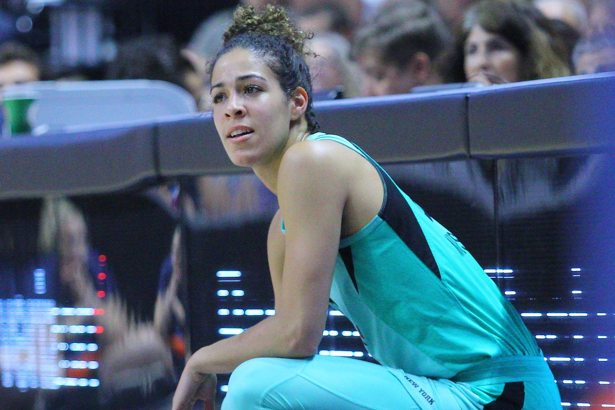 Former Uconn Husky  New York Libertys Kia Nurse Interview - The Uconn Blog