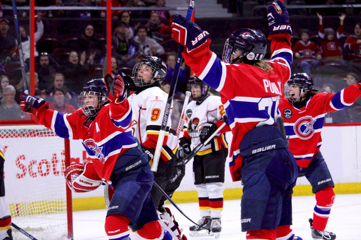 canadiennes goal