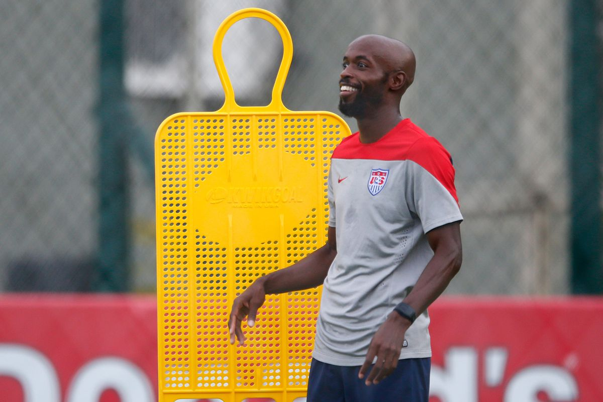 USA Training & Press Conference - 2014 FIFA World Cup Brazil
