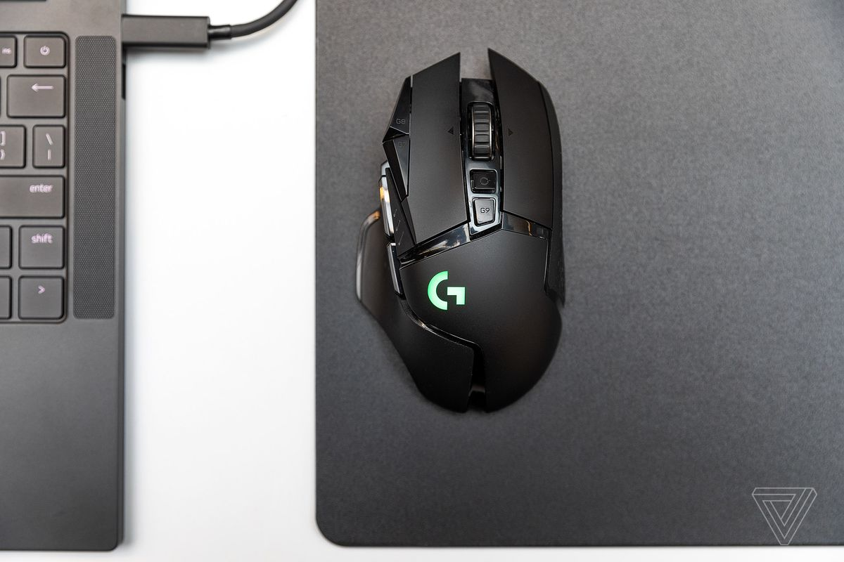 Logitech's G502 Lightspeed is a wireless version of the fan