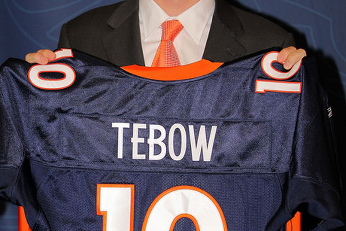 The Denver Broncos have named Tim Tebow as their starting quarterback. How does he compare with Sam Bradford and the other rookies from the 2010 NFL Draft?