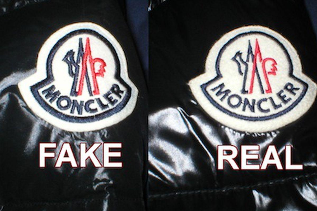 """Image via <a href=""""http://www.monclerworld.ch/Fake.htm"""">MonclerWorld.ch</a>"""