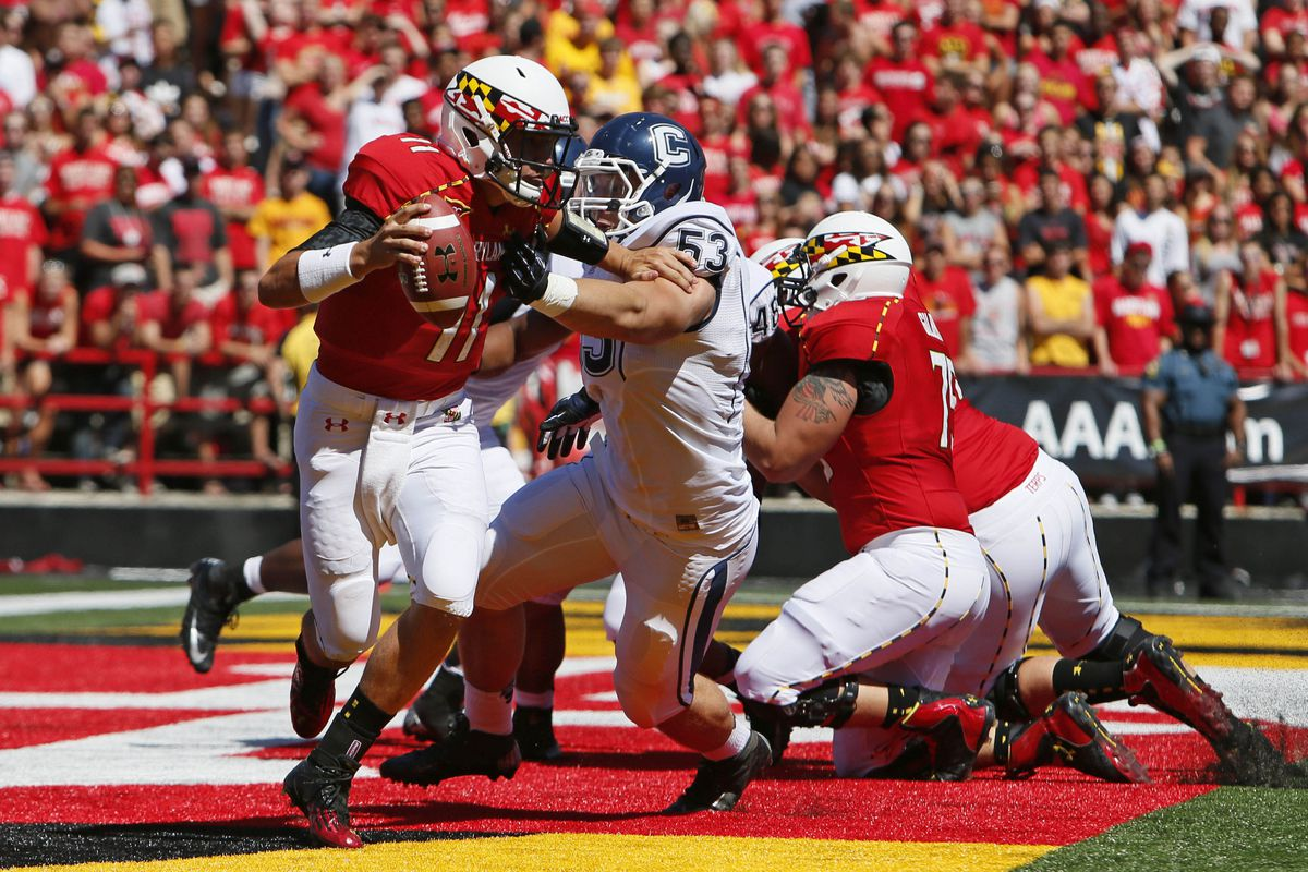 Too Little Too Late For Maryland Uconn Wins Edsall Bowl 24 21