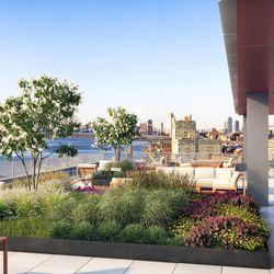 Brooklyn Navy Yard WeWork artist rendering