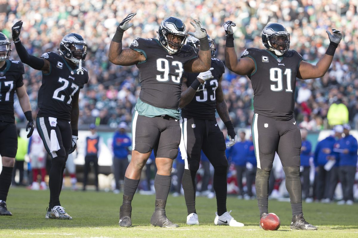 The Eagles have a real intriguing defensive tackle trio