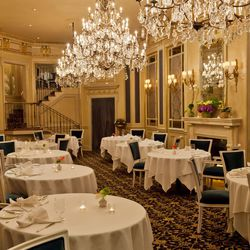 Le Bec Fin: Sure, Craig LaBan criticized the re-do as boring, but there's no doubt that LBF is one of the must-see dining rooms in Philly. The 40 year old legend still takes the breath away from first-timers walking into the salon.
