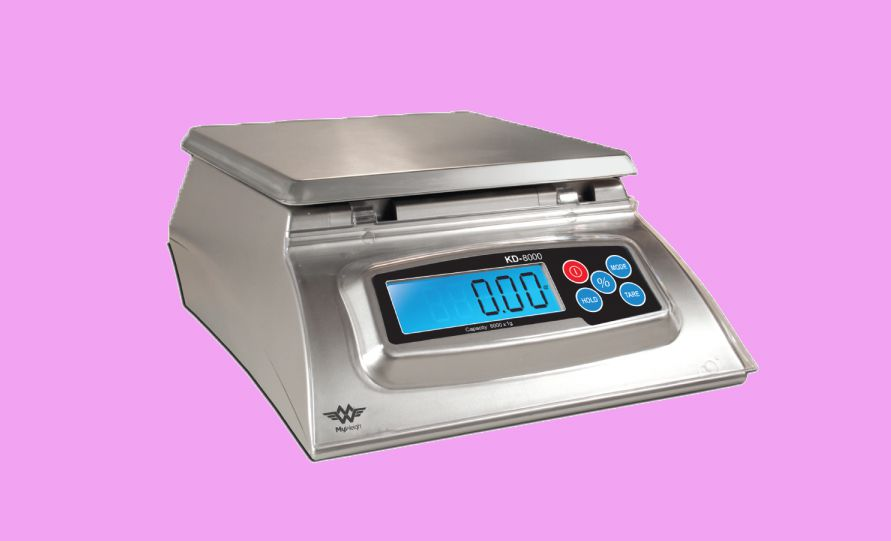 The KD-8000 Scale with Bakers Math, by My Weigh