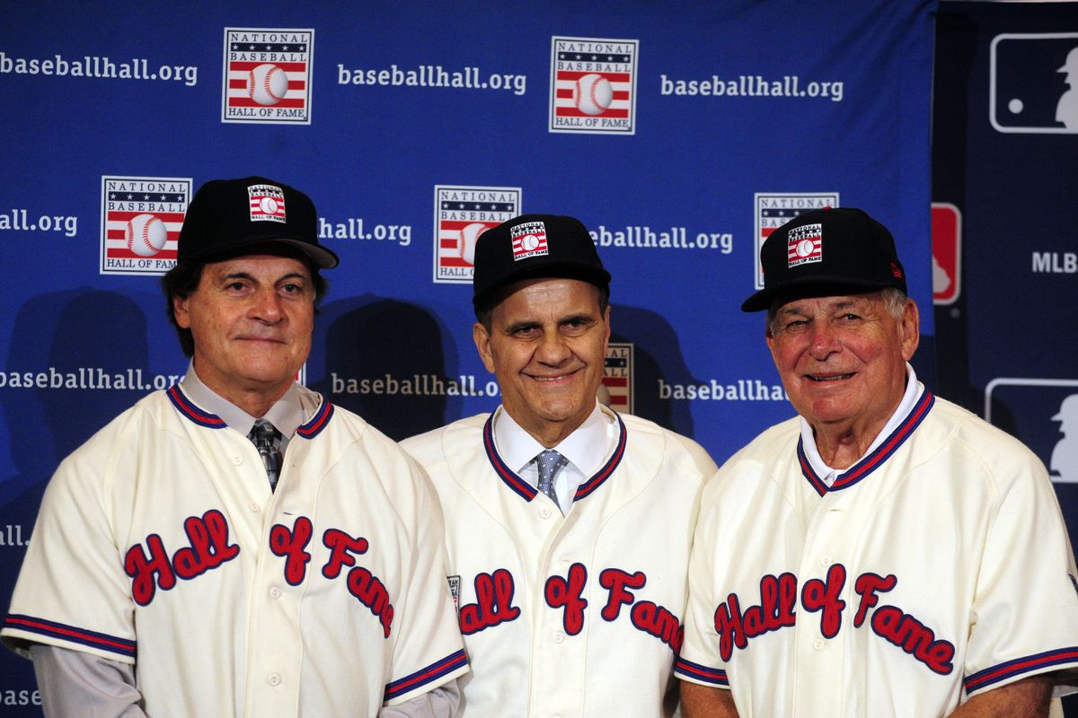 4abf69145de46e Joe Torre, Tony La Russa, and Bobby Cox elected to Hall of Fame ...