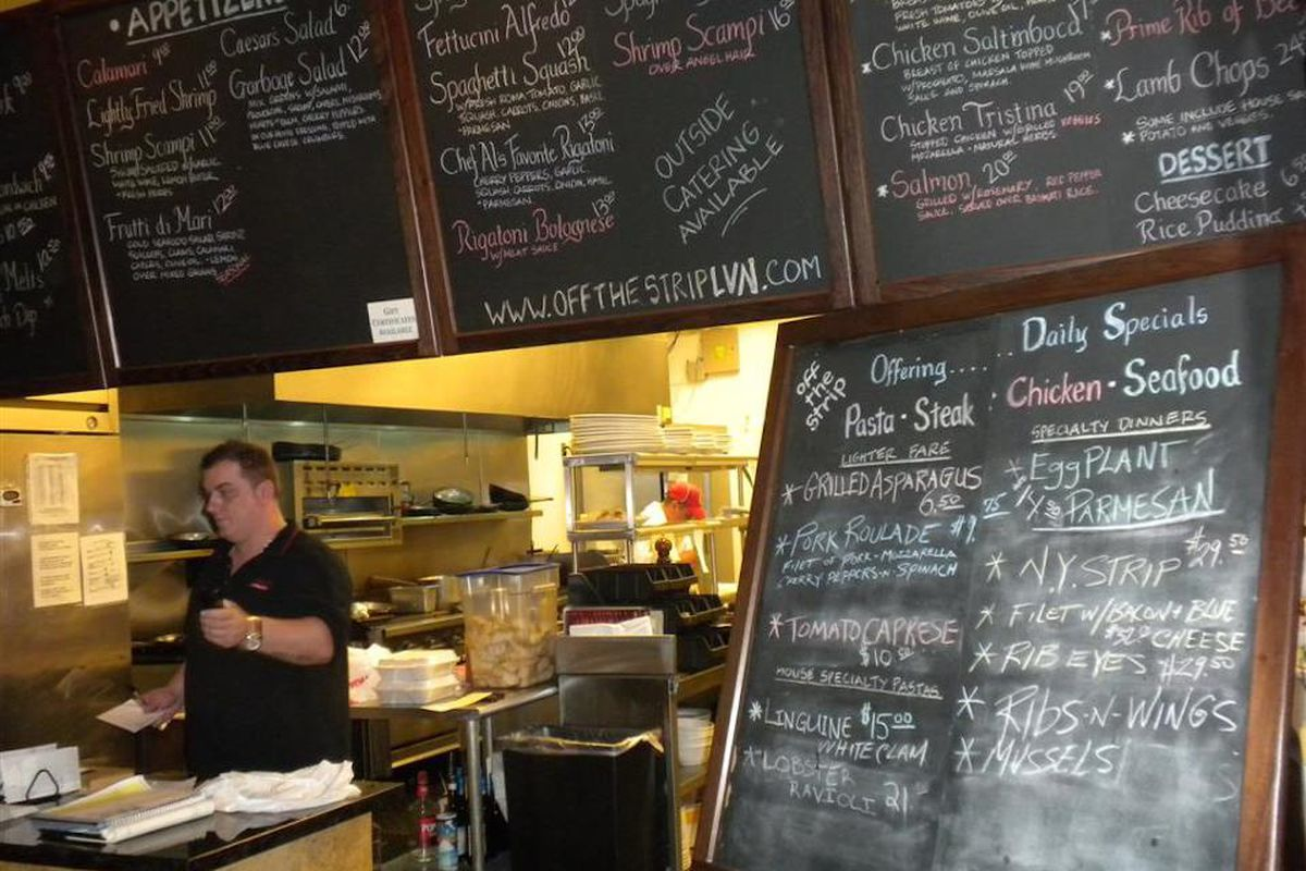 Off The Strip Bistro in Southern Highlands