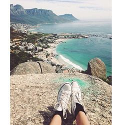 """""""The beach coast from above. Clifton Beach and Camps bay."""""""
