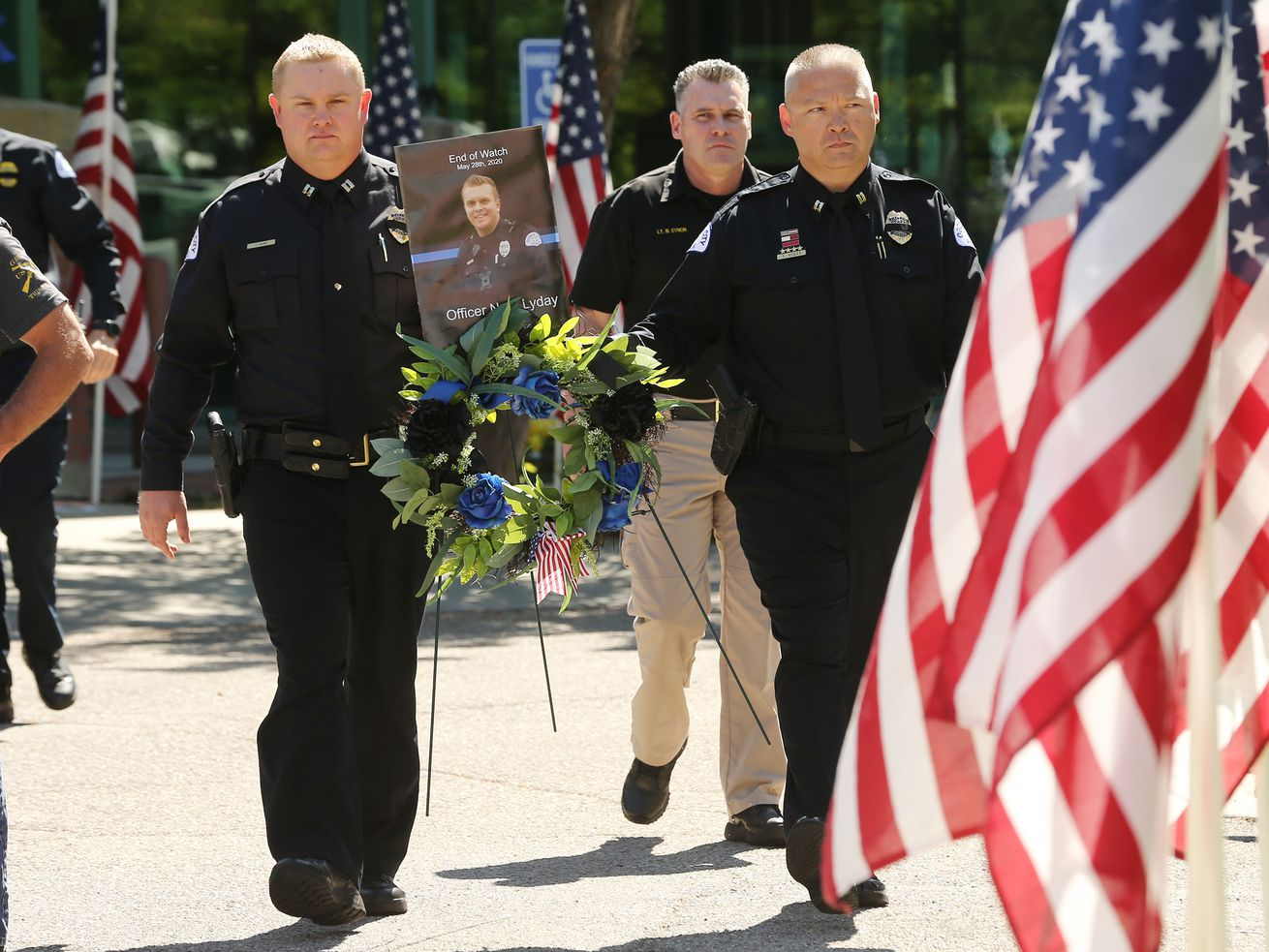 In our opinion: Police officer Nate Lyday laid down his life for his friends