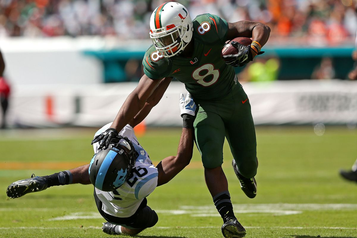 FSU fans will try to talk trash about Duke Johnson this week. Read my response below.
